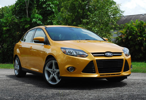 2012 Ford Focus Titanium Review Test Drive