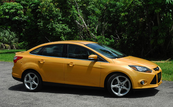 2012 Ford Focus Titanium Beauty Left Wide Done Small