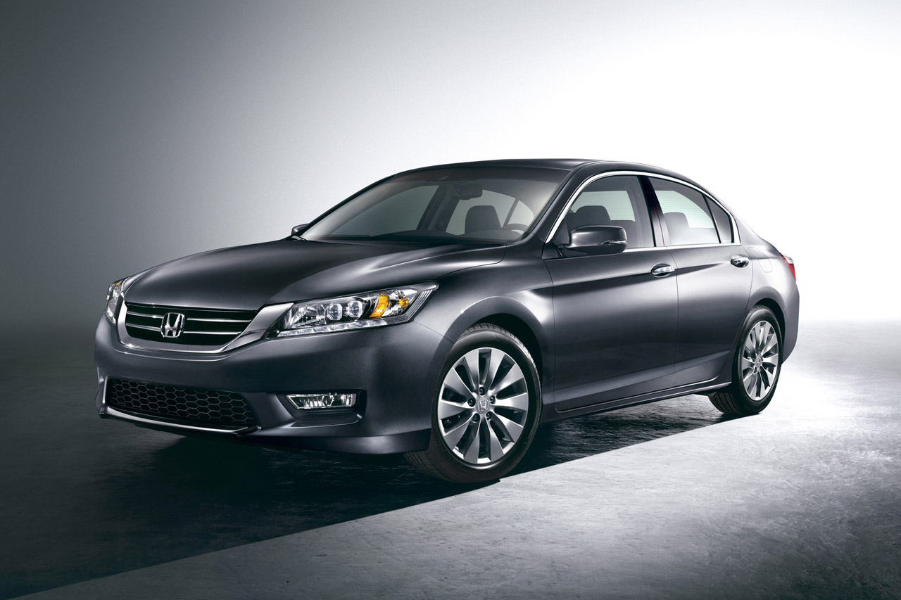 First Official Images of 2013 Honda Accord Released