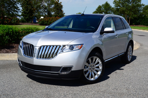 2013 lincoln mkx luxury crossover review test drive. Black Bedroom Furniture Sets. Home Design Ideas