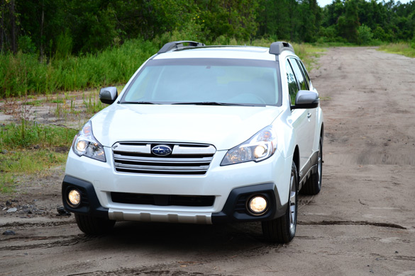 2013 Subaru Outback 2 5i Limited Review & Test Drive