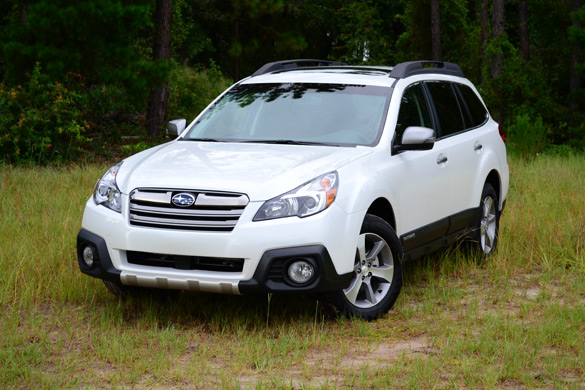 2013 Subaru Outback 2.5i Limited Review & Test Drive