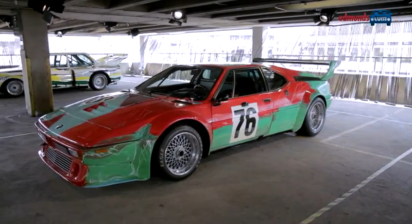 A Brief Tour Of BMW's Art Car Collection: Video