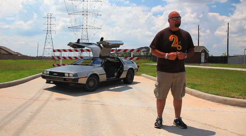Matt Farah Drives An Electric Delorean: Video