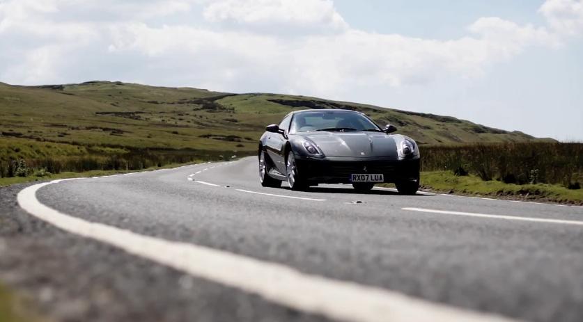 Chris Harris Trades His Porsche 911 GT3 RS 4.0 For A Ferrari 599: Video