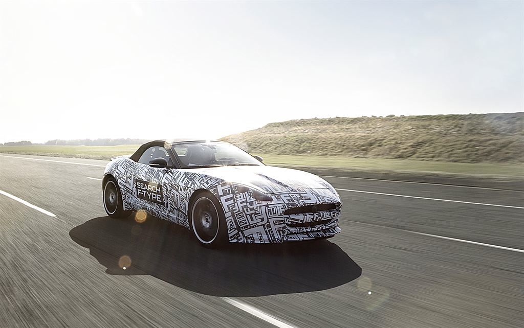 Jaguar's New F-Type Shows Us What Fast Looks Like: Video