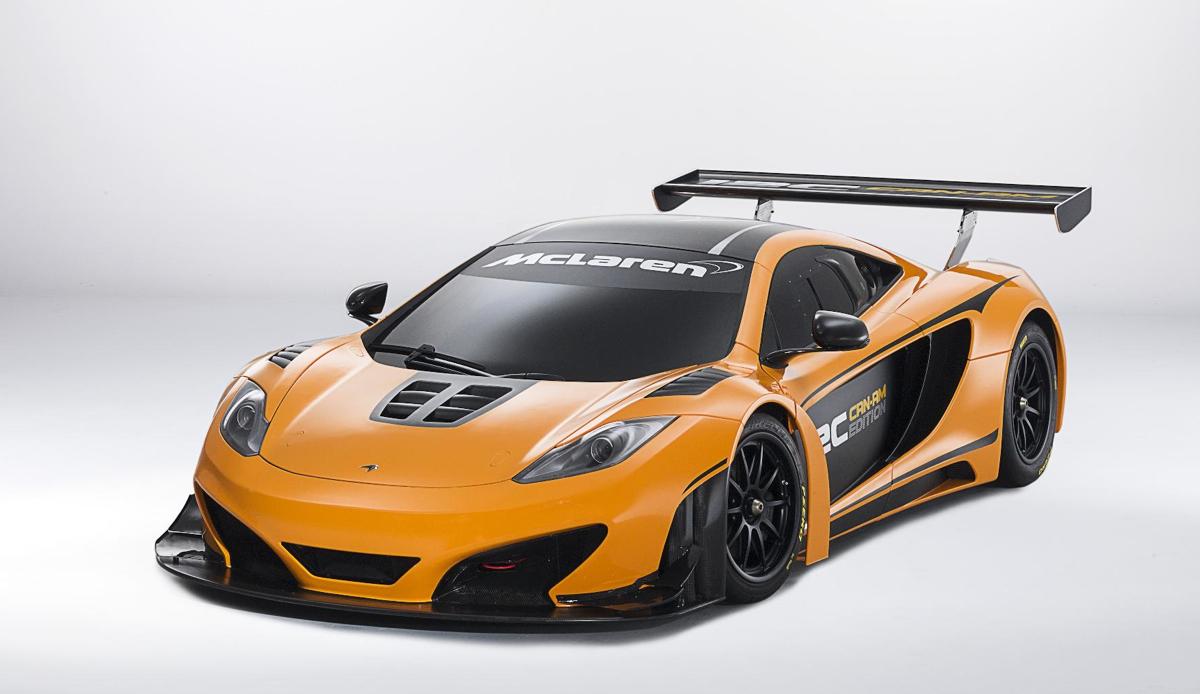 McLaren To Debut 12C Can-Am Racing Concept At Pebble Beach