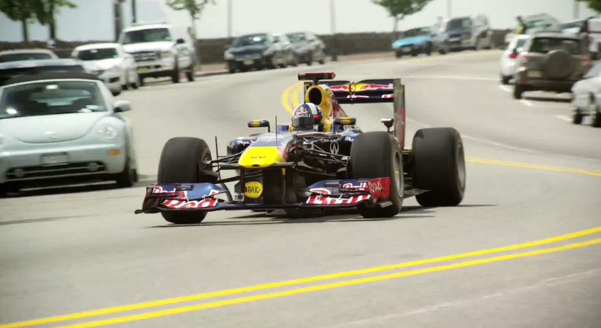Red Bull Racing Promotes The Grand Prix Of America: Video