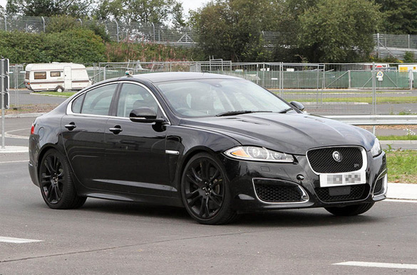 Nurburgring Testing Continues: Jaguar XFR-S Homes In on BMW M5