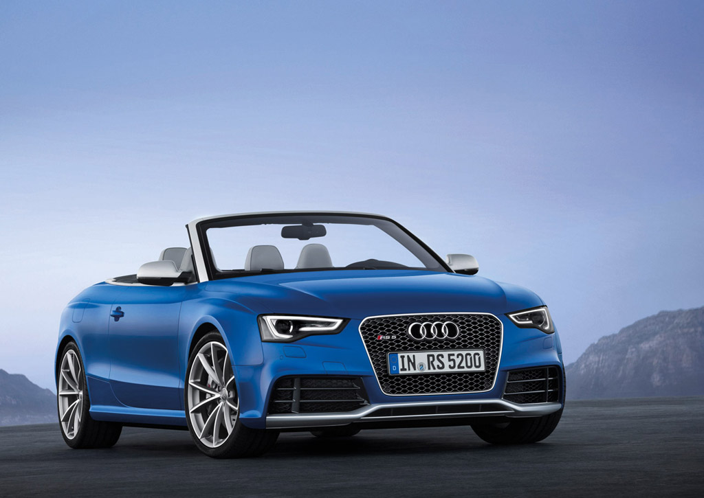 New 2013 Audi RS5 Cabriolet Debuts Packing 450 Horsepower