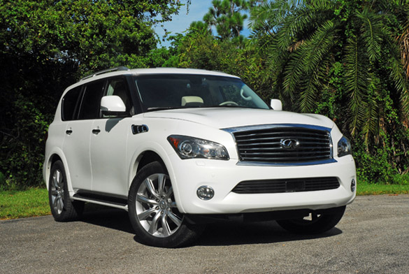 2012 infiniti qx56 awd review test drive. Black Bedroom Furniture Sets. Home Design Ideas