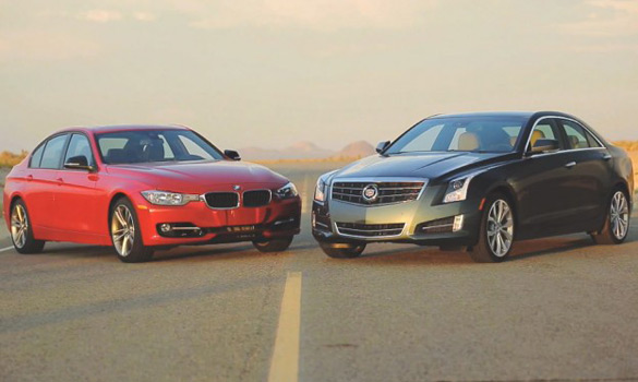 Motor Trend Pits New Cadillac ATS 2.0 Turbo Against BMW 328i: Video