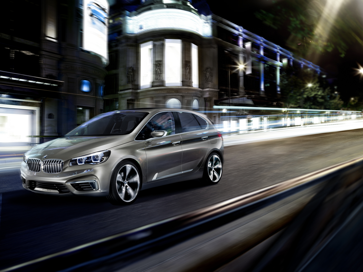 BMW Concept Active Tourer Takes The Brand In A New Direction