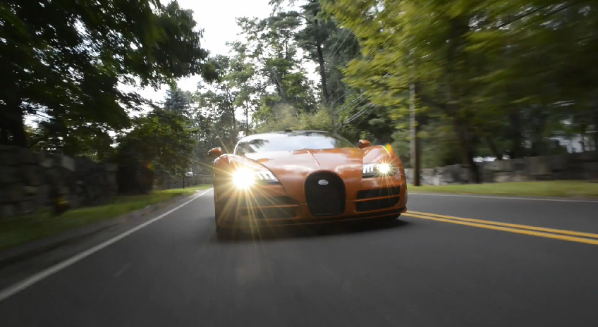 Bugatti Shows Off The 16.4 Grand Sport Vitesse: Video