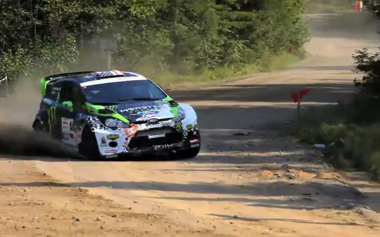 Ken Block & Alex Gelsomino Win Rallye Defi: Video