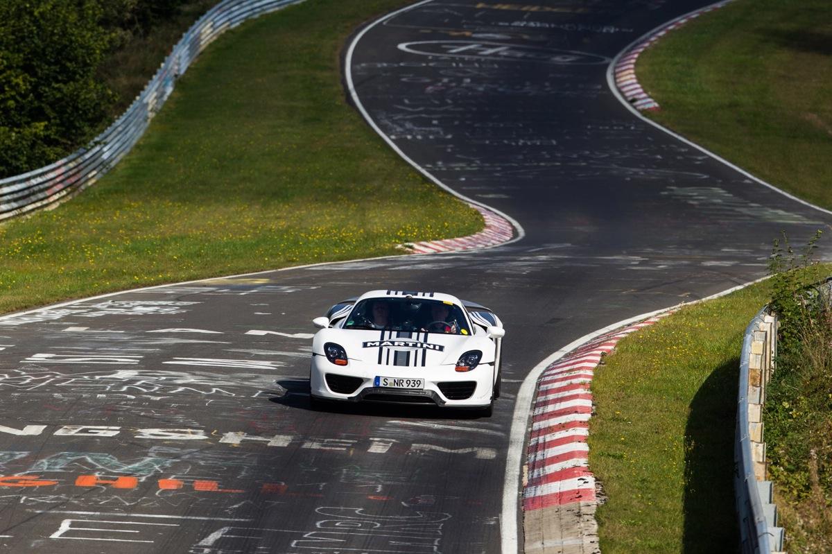 Porsche's 918 Spyder Laps The 'Ring In 7:14