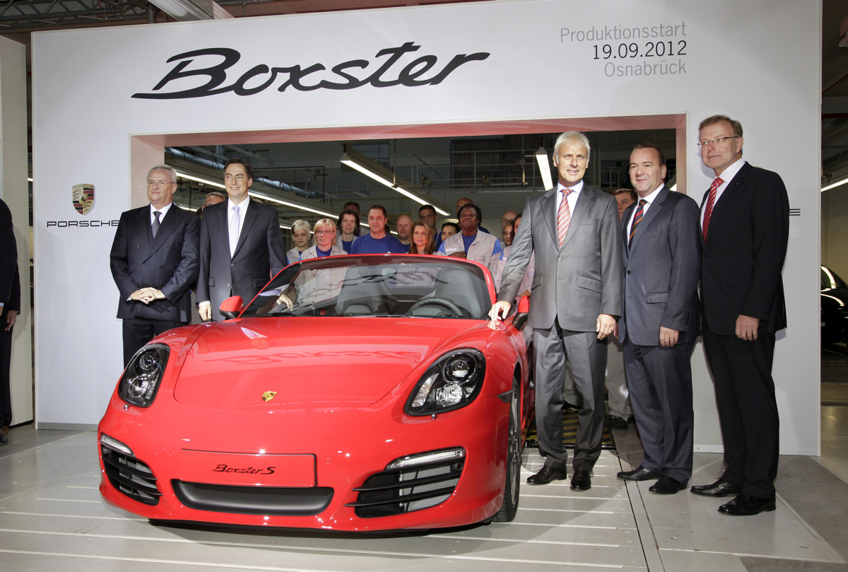 Porsche Boxster Production Shifts… To Volkswagen?