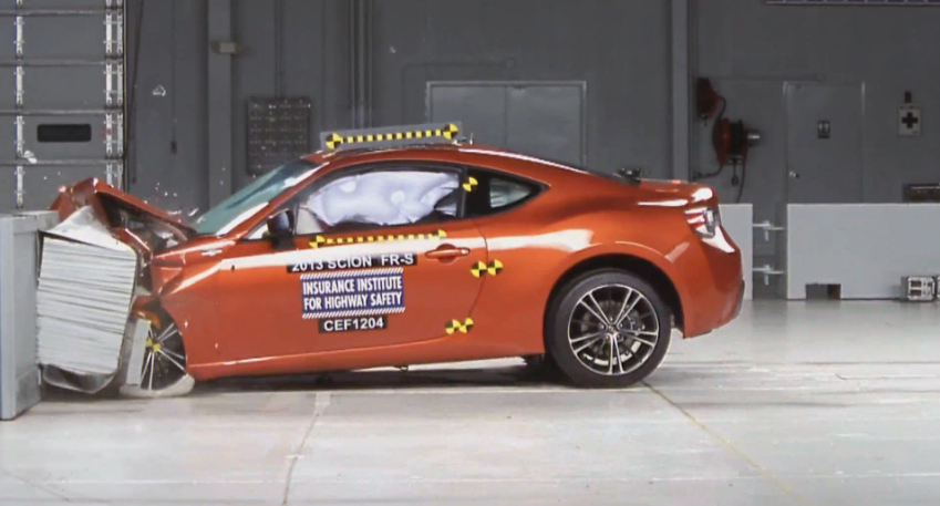 Scion FR-S, Subaru BRZ Earn Top Safety Pick Award: Video