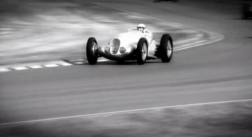 Silver Arrows Run At Goodwood Revival: Video