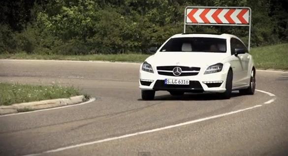 Mercedes-Benz' Estate Niche Explored: Chris Harris Pilots CLS63 AMG Shooting Brake – Video