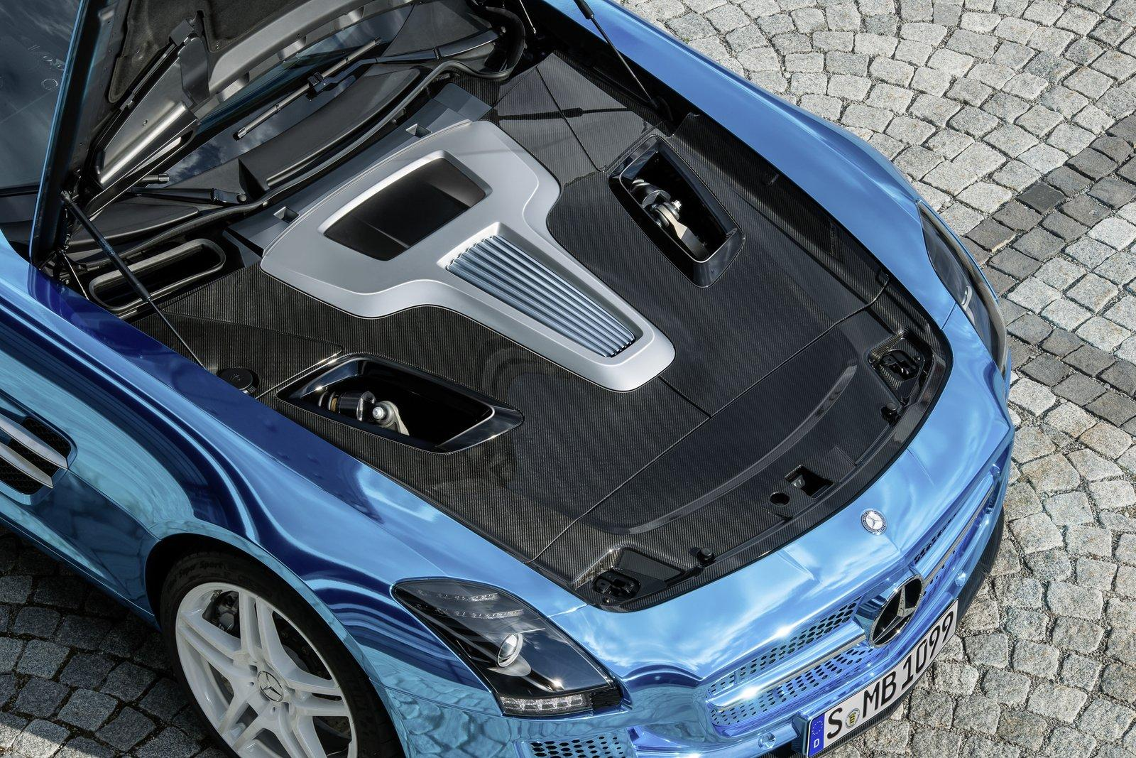 100 hot cars mercedes benz sls electric drive for Mercedes benz electric drive