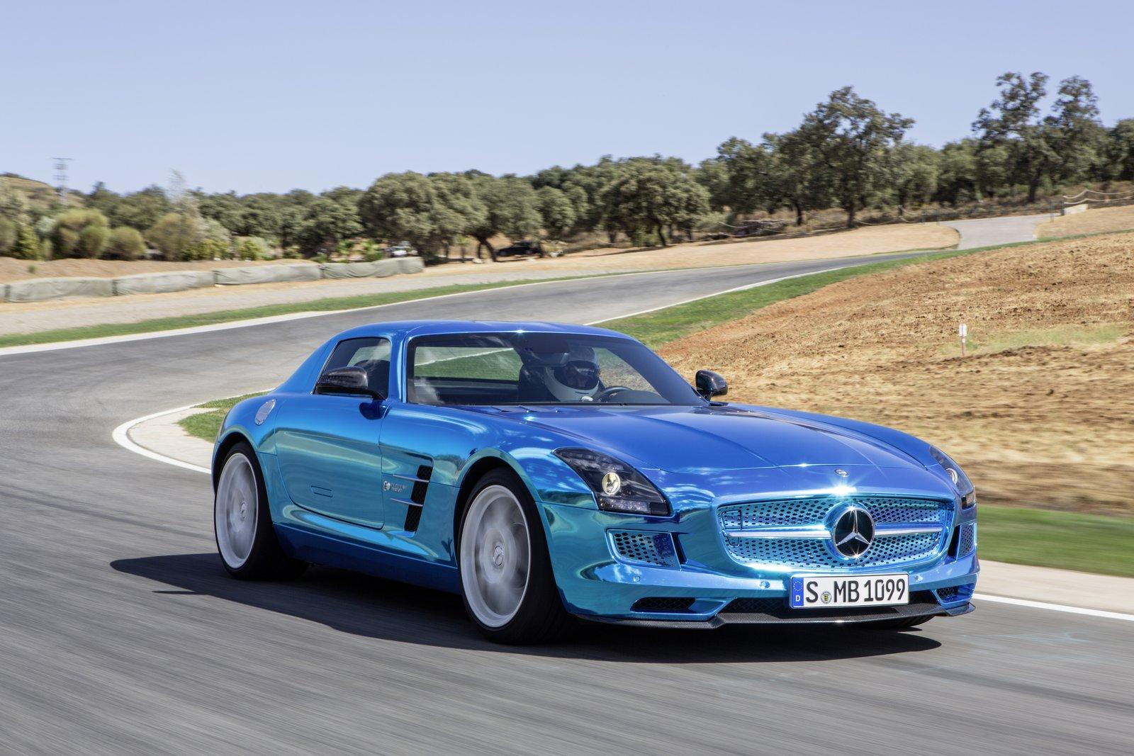 Mercedes-Benz SLS Electric Drive Electrifies At 2012 Paris Motor Show