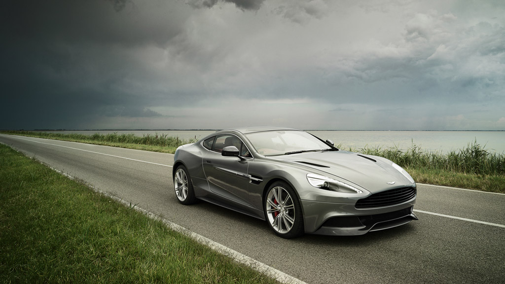 Aston Martin Opens Floodgate of 2013 Vanquish Images and Promo Videos