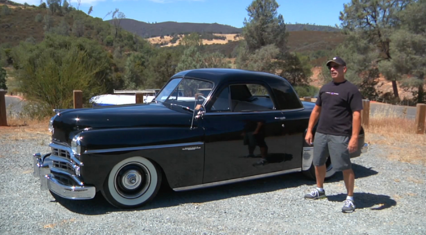 Old School Cool – Big Muscle Drives A 1949 Dodge Wayfarer: Video