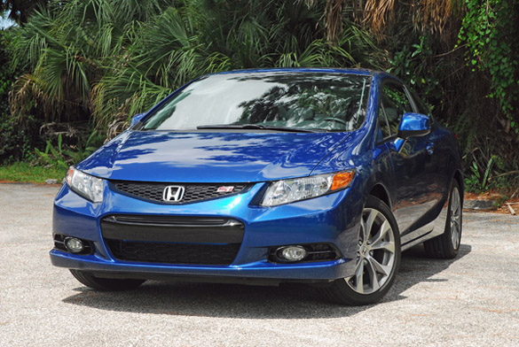 2012 Honda Civic Si Coupe Review  Test Drive