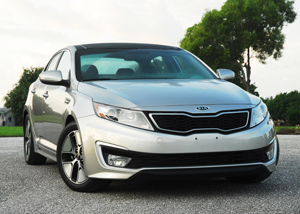2012 kia optima hybrid premium tech review test drive. Black Bedroom Furniture Sets. Home Design Ideas