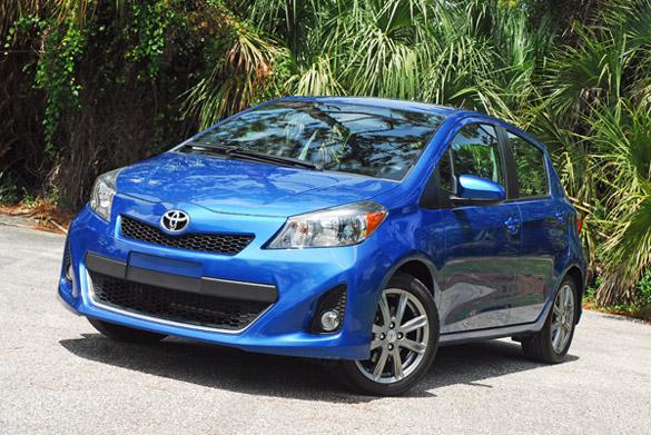 2012 Toyota Yaris Five Door SE Sport Edition Review & Test Drive