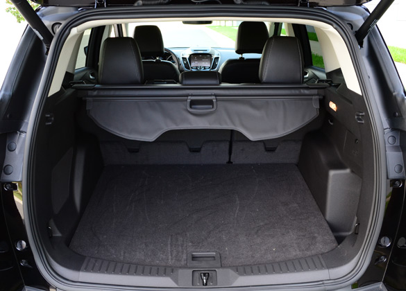 ford escape rear cargo cover autos post. Black Bedroom Furniture Sets. Home Design Ideas
