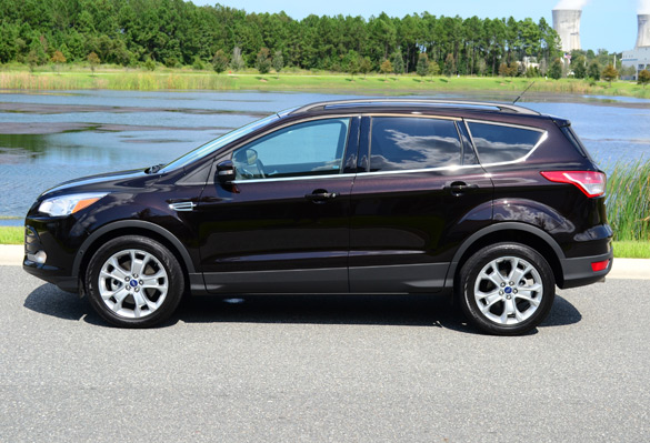 2013 Ford Escape Side