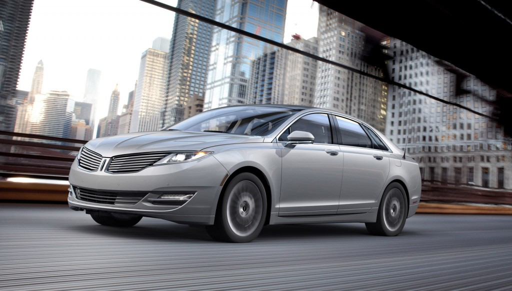2013 Lincoln MKZ Hybrid Boasted as Most Fuel Efficient Luxury Vehicle w/45mpg