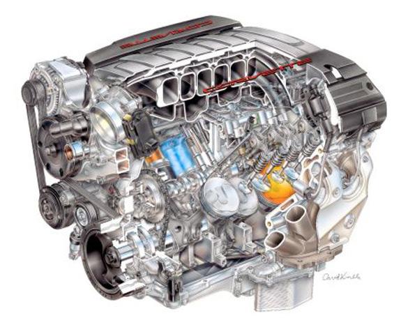 New Details Emerge for 2014 Chevrolet Corvette LT1 Featuring 450 Horsepower