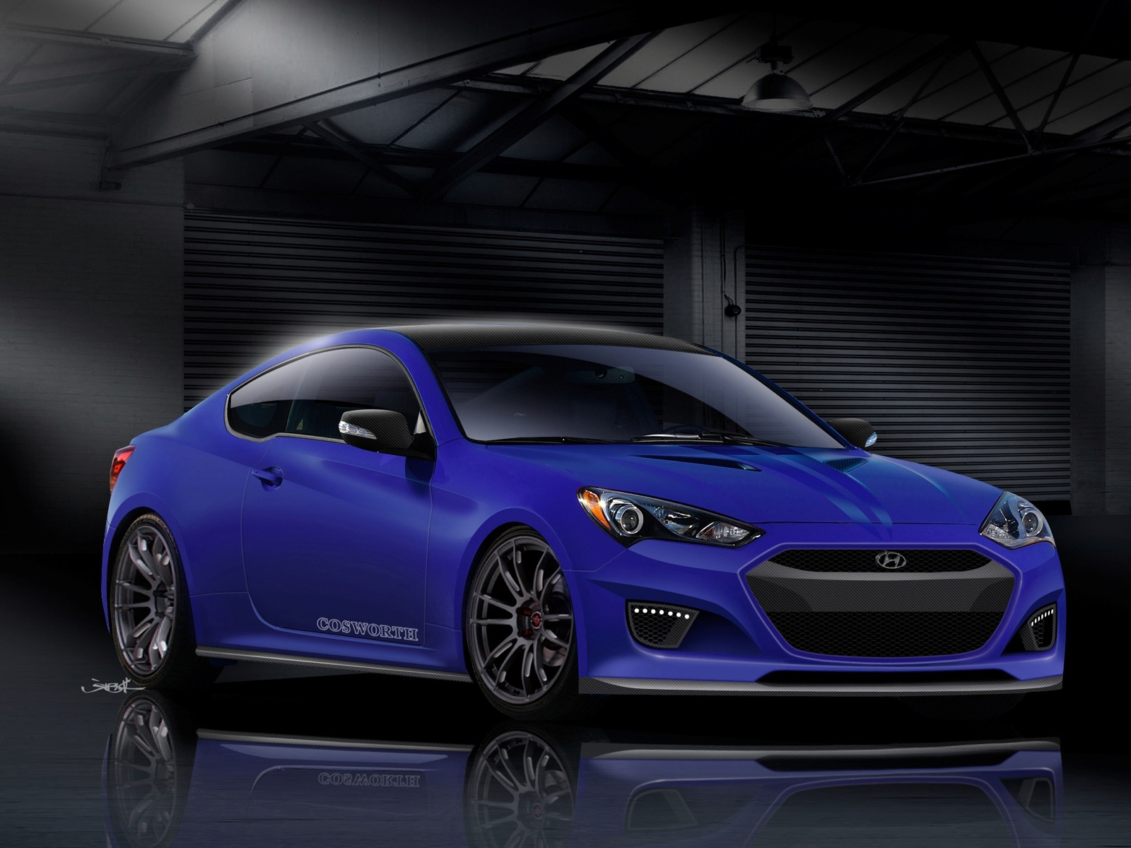 Cosworth Building 'Ultimate Performance' Genesis Coupe For SEMA