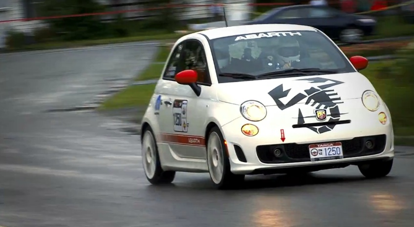 The Fiat 500 Abarth At The Targa Newfoundland: Video