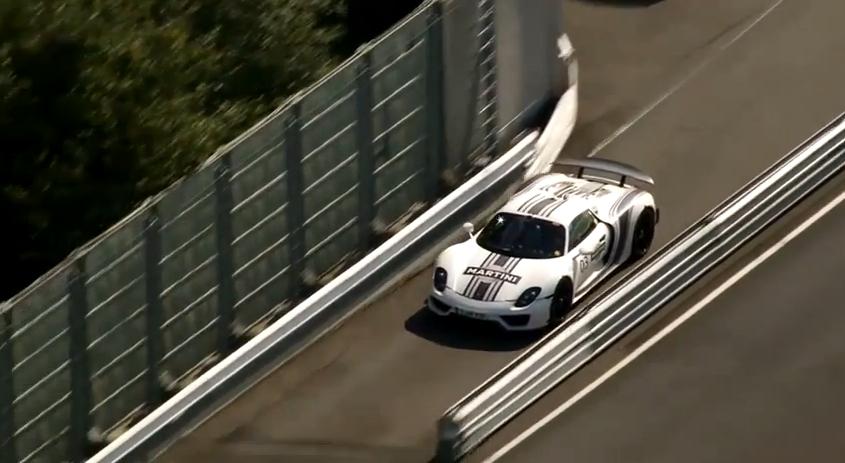 Chris Harris Rides Shotgun In The Porsche 918: Video
