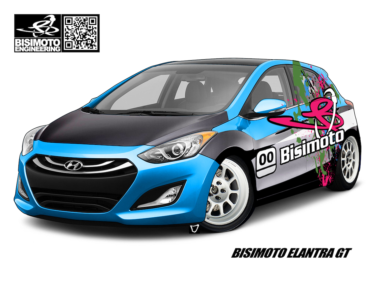 Bisimoto Builds Hyundai A 600 Horsepower Elantra GT For SEMA