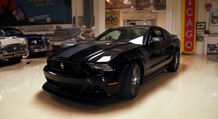 The 2013 Mustang Boss 302 Laguna Seca Visits Jay Leno's Garage: Video