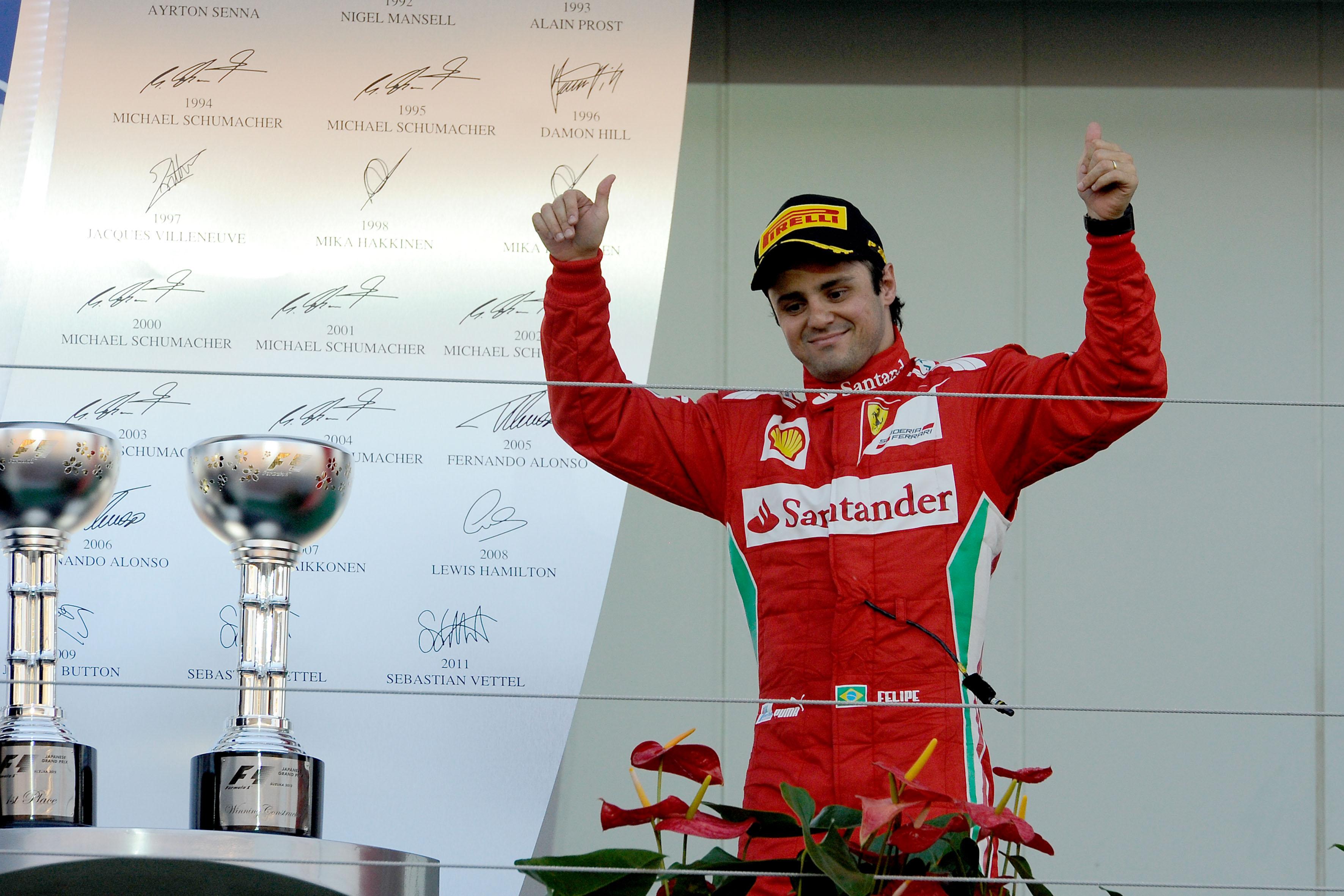 Felipe Massa Returns To Ferrari For 2013