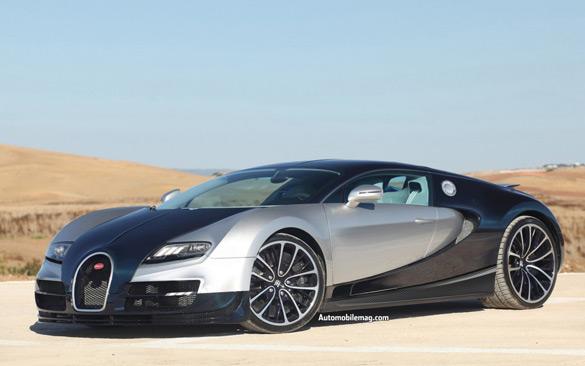 Bugatti 'SuperVeyron' Set to Debut at Frankfurt with 1,600 Horsepower