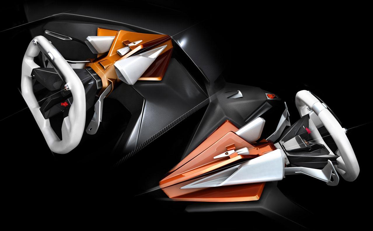 College Design Student Envisions Extreme Lamborghini