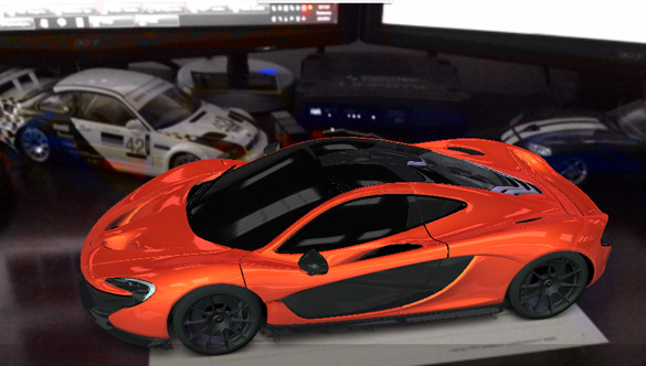 mclaren gives iphone/ipad users a free interactive 3d view of p1