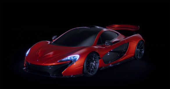 McLaren P1 Live Sexiness at 2012 Paris Motor Show Encased in 120-Second Release Video