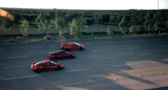 Top Gear's Clarkson, Hammond and May Push Aventador, M600, MP4-12C To Limit at Nardo