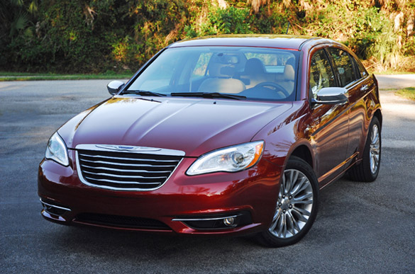 2012 Chrysler 200 Limited Sedan Review & Test Drive