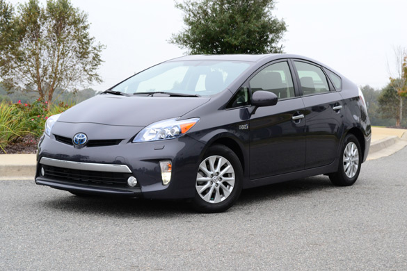 2012 Toyota Prius Plug-In Hybrid Review & Test Drive