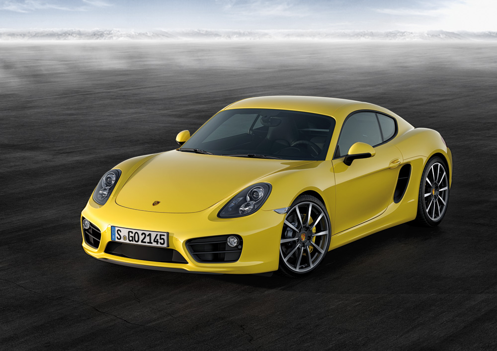 Porsche Reveals The 2013 Cayman In Los Angeles: Video