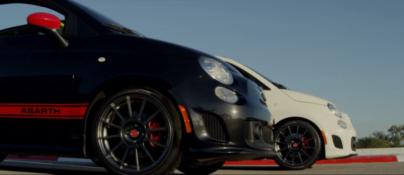 Fiat Debuts The Topless 500c Abarth In Los Angeles: Video